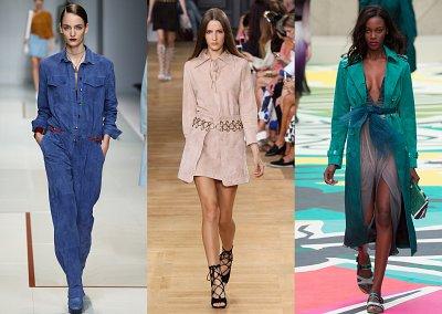 Цветная замша - модный хит сезона