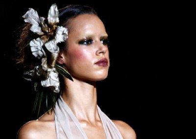 Декоративные цветы - модный весенний тренд