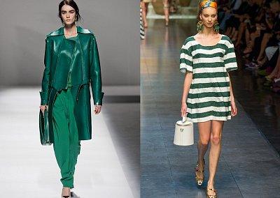 Изумрудный - модный цвет 2013 года
