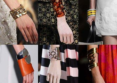 Модные браслеты весна-лето 2013