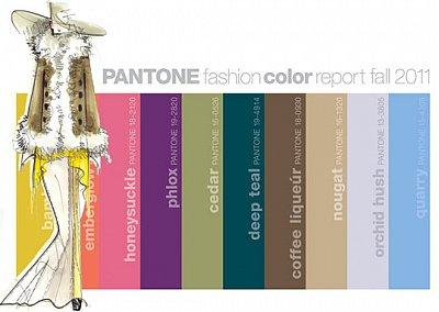 Модные цвета осень-зима 2011-2012