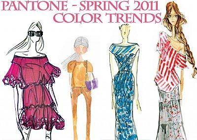 Модные цвета весна-лето 2011