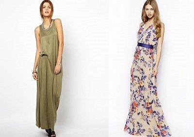 Макси-платья весна-лето 2014