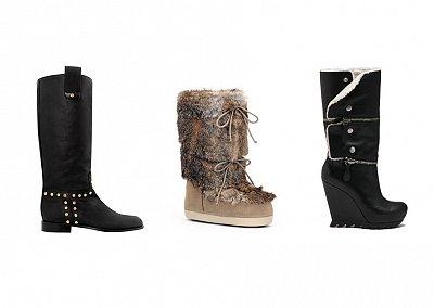 Модные сапоги зима 2012