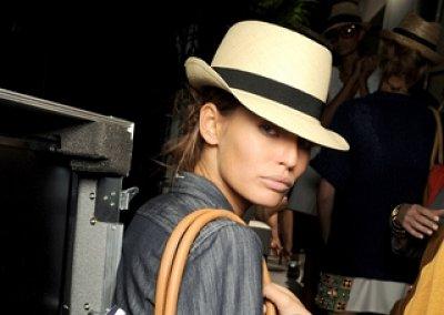 Mодные шляпы лето 2011
