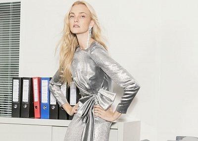 Одежда с эффектом металлик - блестящий тренд сезона