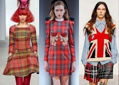 Одежда в клетку - модный тренд сезона