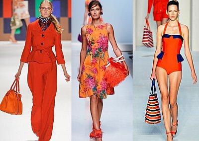 Оранжевый - самый модный цвет 2012 года