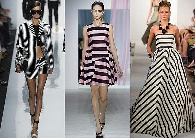 Полоска - модный тренд сезона