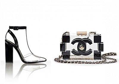 Прозрачные аксессуары - модный тренд лета