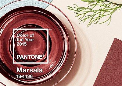 Marsala - cамый модный цвет 2015 года
