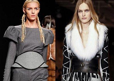 Широкий пояс - модный хит осень-зима 2012-2013