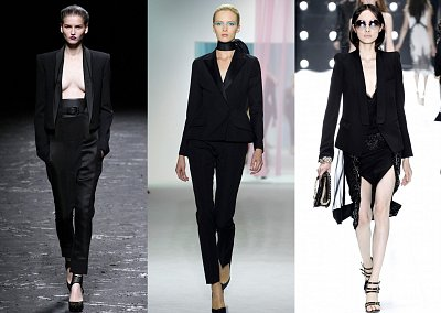 Смокинг - модный тренд сезона