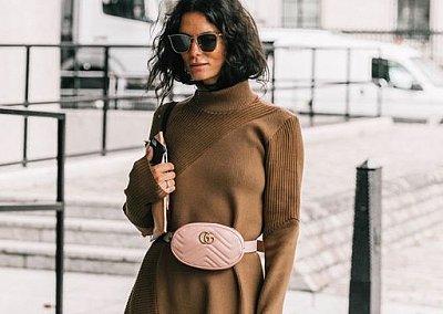 Сумка-пояс - модный тренд сезона