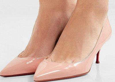 Туфли на низком каблуке - модный тренд сезона