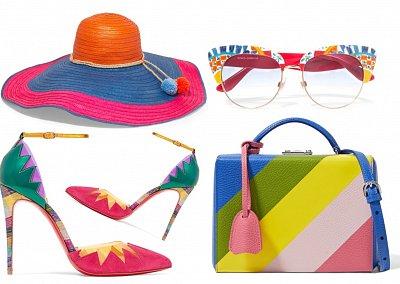 Яркие аксессуары - модный тренд лета