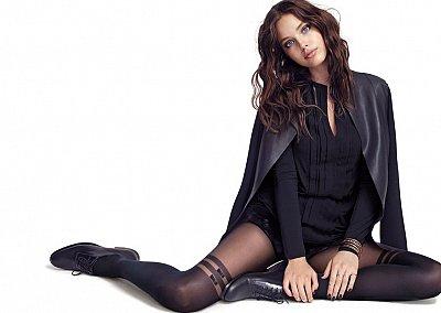 Эмили Дидонато в рекламной кампании Calzedonia