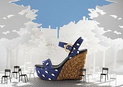 Коллекция обуви Louis Vuitton весна-лето 2012