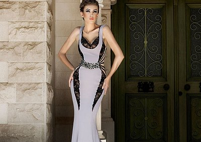 Коллекция вечерних платьев Mireille Dagher весна-лето 2013