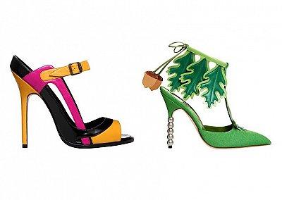 Коллекция женской обуви Manolo Blahnik весна-лето 2012