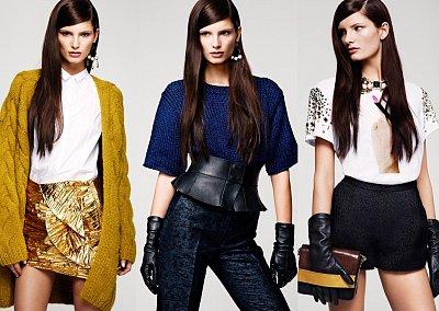 Лукбук H&M осень 2012
