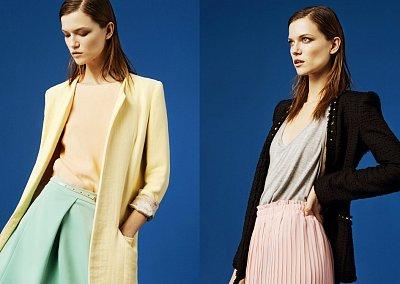 Лукбук Zara март 2012