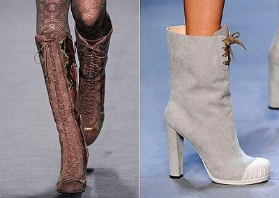 Модные сапоги осень-зима  2010-2011
