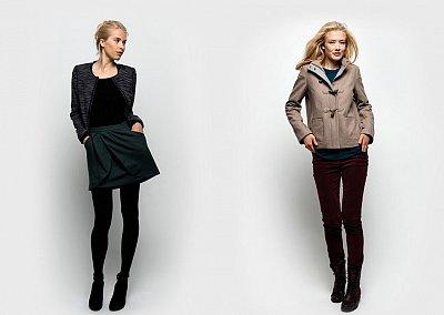 Молодежная мода от NAF NAF осень-зима 2012-2013