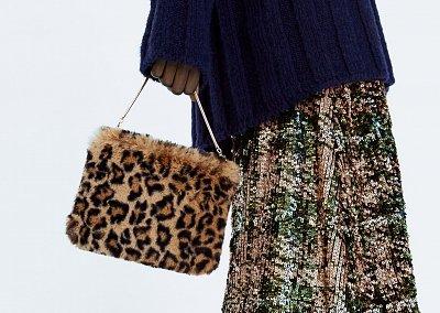 Немного роскоши: меховые сумки