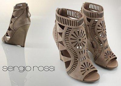Обувь Sergio Rossi весна-лето 2011