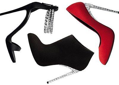 Сумки и обувь Giuseppe Zanotti осень-зима 2012-2013