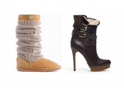 Топ - 20 зимней обуви