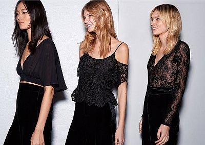 Вечерние наряды Zara Evening осень-зима 2015-2016
