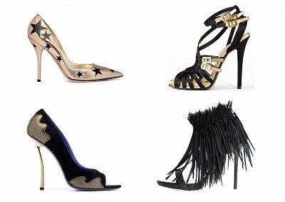 Вечерняя обувь 2012
