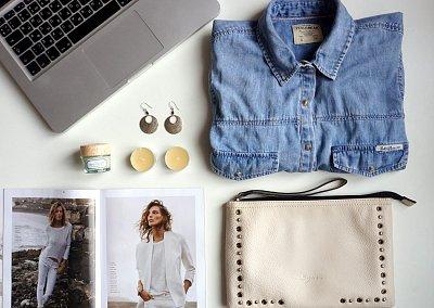 Выбор дня - джинсовая рубашка