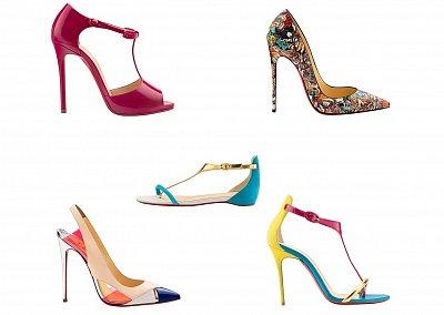 Женская обувь Christian Louboutin весна-лето 2014