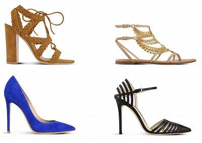 Обувь Gianvito Rossi весна-лето 2015