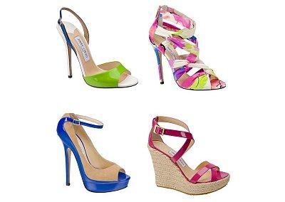 Женская обувь Jimmy Choo весна-лето 2013