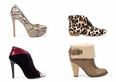 Женская обувь Zara осень-зима 2011-2012