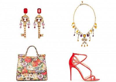 Аксессуары Dolce & Gabbana Pre-Fall 2014