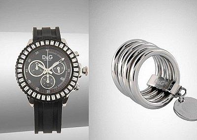 Часы и украшения от Dolce&Gabbana осень-зима 2010-2011