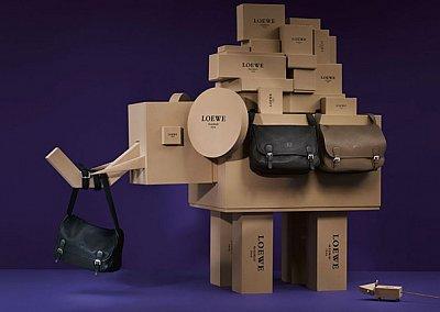 Лукбук коллекции аксессуаров Loewe Holiday 2011-2012