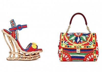 Модные аксессуары Dolce&Gabbana весна-лето 2013