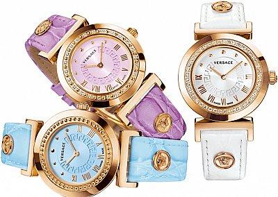 Новая коллекция часов Versace Vanity
