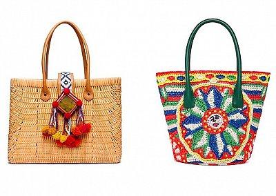 Модные пляжные сумки 2013