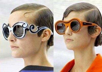 Солнцезащитные очки Prada лето 2011