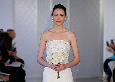 Коллекция свадебных платьев Oscar de la Renta весна 2017