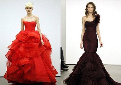 Свадебная мода весна-лето 2013 от Vera Wang