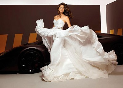 Свадебные платья Alessandro Angelozzi Couture 2013