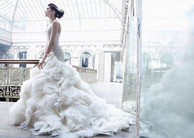 Свадебные платья Lazaro осень-зима 2012-2013